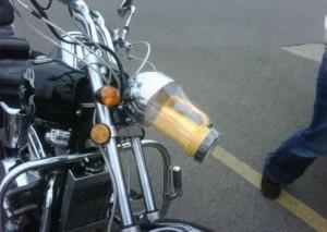 Фара для мотоцикла.