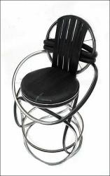 Мебель из велосипедных колес.