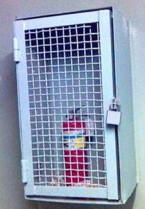 Хранение огнетушителя