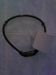Крепление туалетной бумаги 2