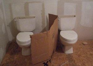 Туалетная кабинка своими руками