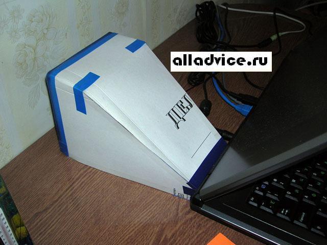 Подставка охлаждения ноутбука своими руками