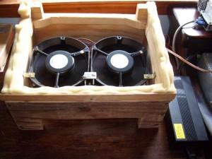 Реализация дополнительного охлаждения на ноутбуке.