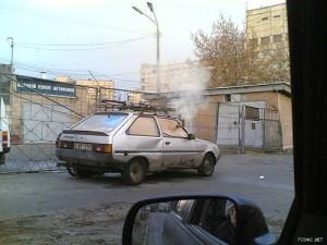 Автомобильная печка.