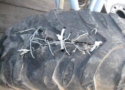 Как отремонтировать грыжи на шине - NicosPizza.Ru