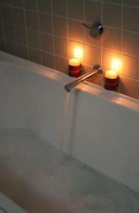 Романтическая ванна.