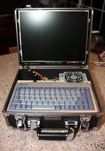 Самодельный ноутбук.