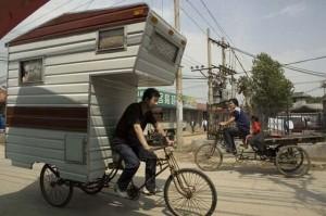 Велосипедный фургон.