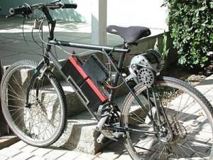 Самоходный велосипед.