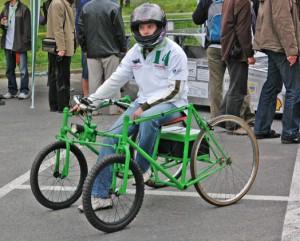 Четырехколесный велосипед.