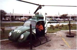 Вертолет из автомобиля.