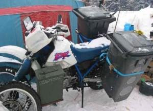 Самодельные кофры для мотоцикла.