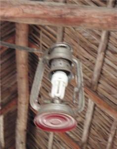 Современный светильник.