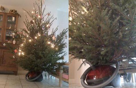 Как провести Тренога для елки своими руками