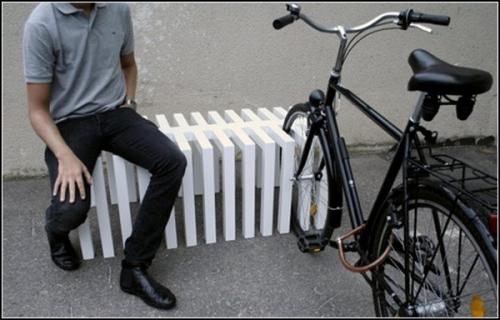 Компактная велосипедная парковка
