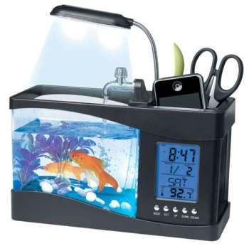 Подставка с аквариумом