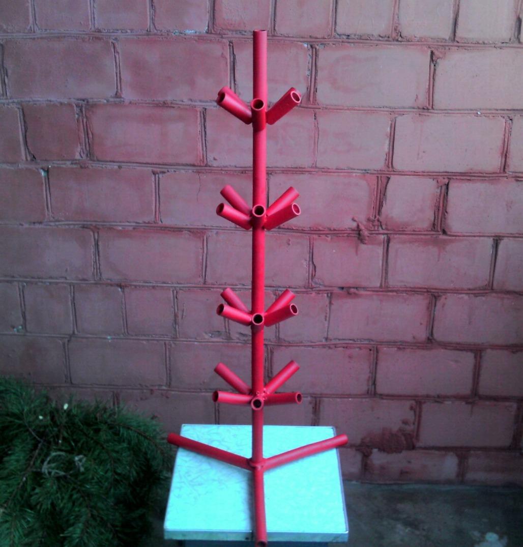 Самодельная стойка для елки