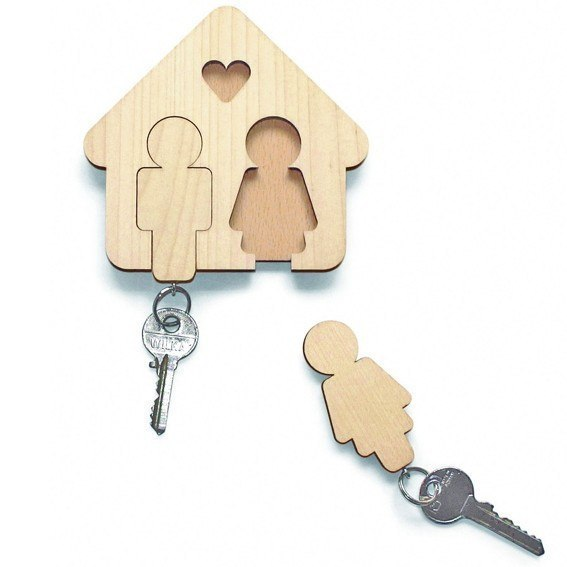 Самодельные брелоки для ключей