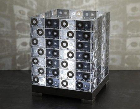 Светильник из кассет
