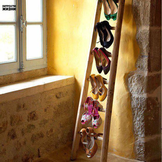 Хранение туфель