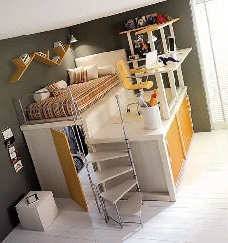 Экономная спальня
