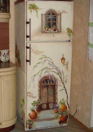 Декорирование холодильника