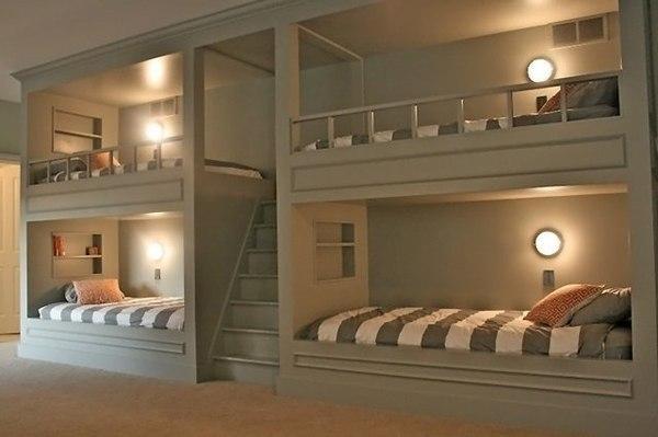 Многоместная спальня
