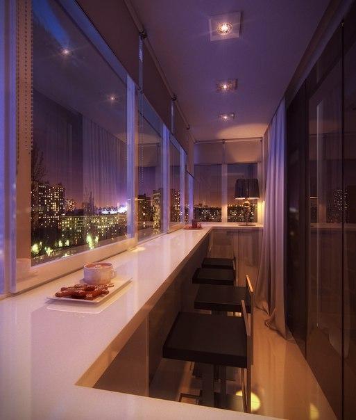 Отдых на балконе