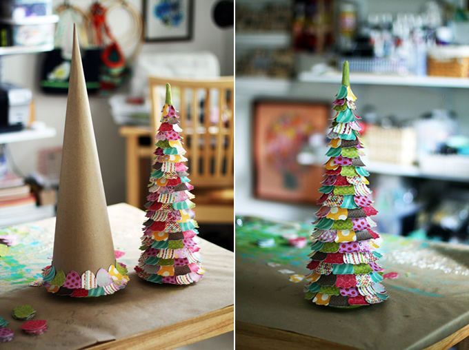 Новогодние игрушки елка своими руками фото