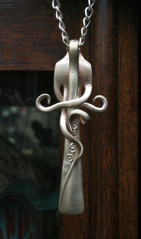 Поделки из ложек и вилок