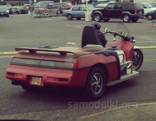 Самодельный мото-автомобиль