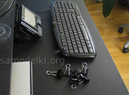 Если сломались ножки клавиатуры