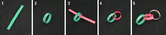 Как сделать елочные гирлянды