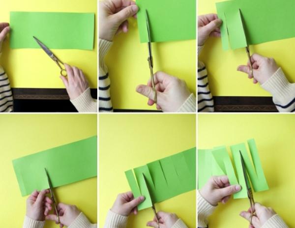 Бумажные гирлянды змейка своими руками