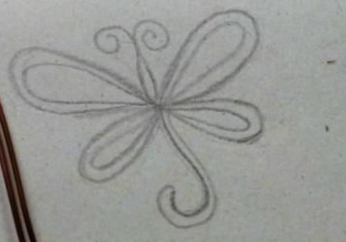 Бабочки из проволоки своими руками
