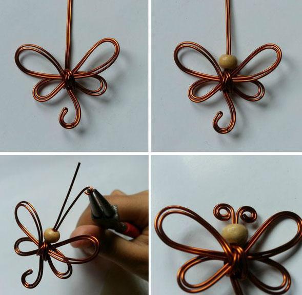 Бабочки своими руками из проволоки