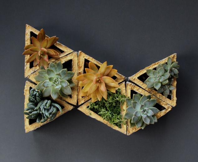 Полки из треугольников
