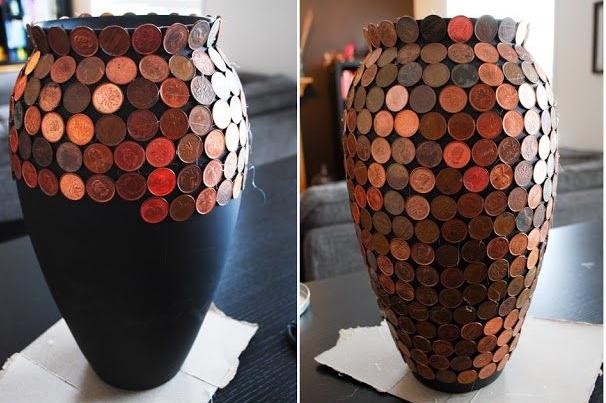 Своими руками оформление вазы
