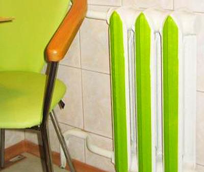 Маскировка и оформление батарей отопления