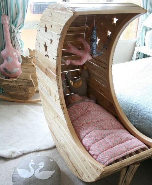Необычная детская кроватка