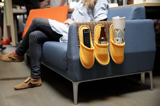 Органайзер для дивана своими руками