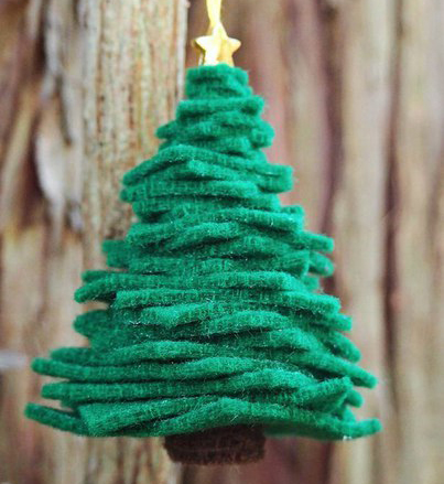 Фетровая елка