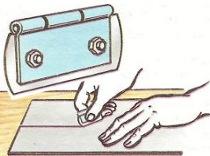 Нож из лезвия для бритья