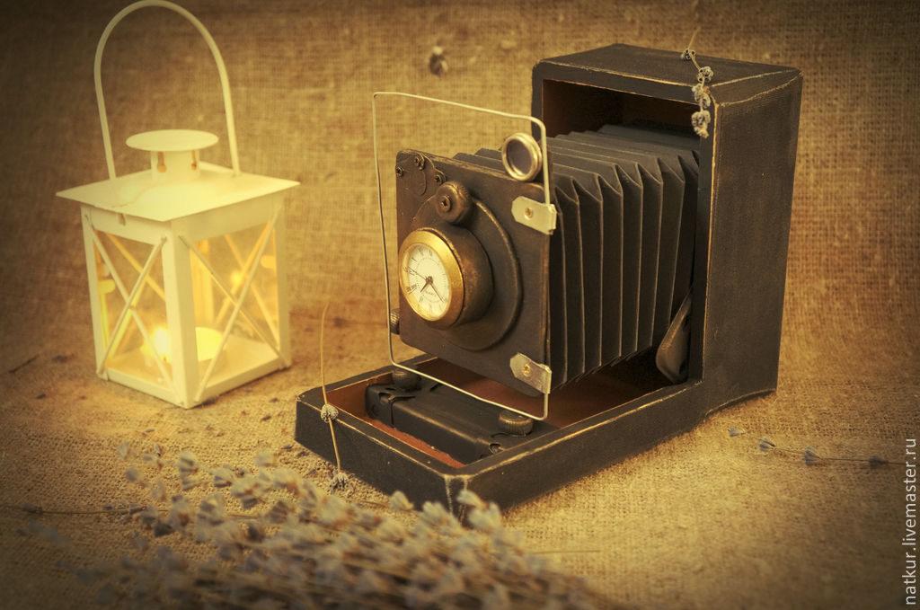 Как сделать часы из старого фотоаппарата позволяет омолодить