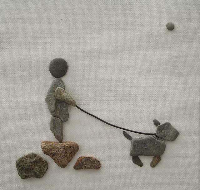 Картины из камушков своими руками