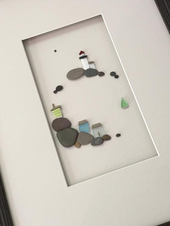 Картины из маленьких камней фото