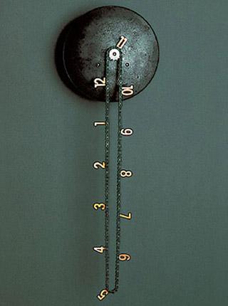 Оригинальные настенные часы без стрелок