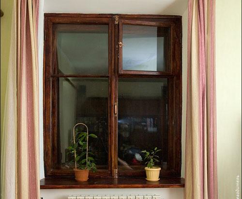 Пример реставрации деревянного окна своими руками