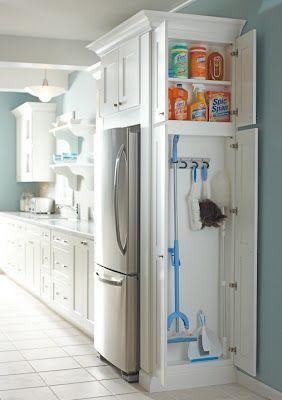 Ограждение холодильника мебелью