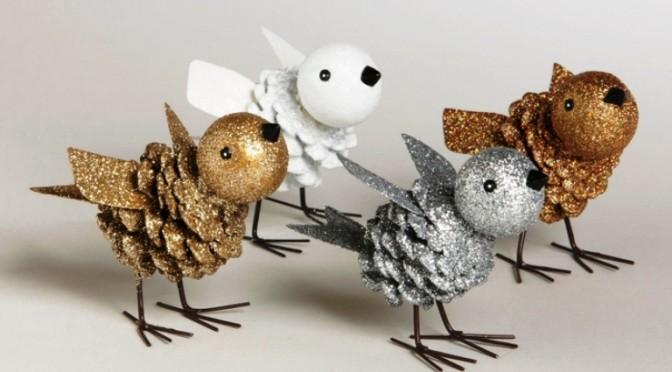 Поделки из шишек своими руками - Птички